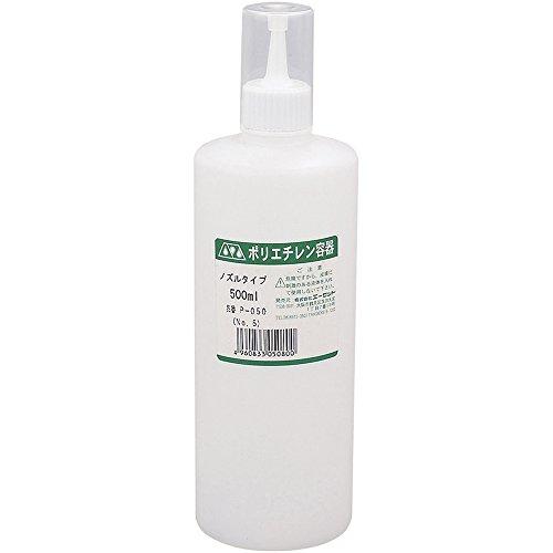 AZ (Ezetto) Polyethylenbeh?lter Poly Flasche 500ml D?sentyp P050 (Nr. 5) (Japan-Import) (500-ml-flasche Poly)