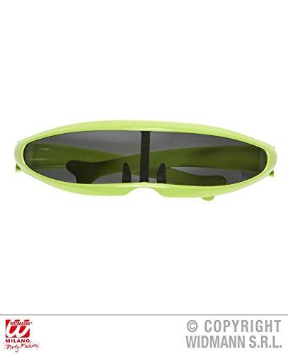 BRILLE - ROBOTER - grün, Cyber Zukunft