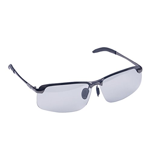 beler UV400 Herren Polarized Photochromic Transition Lens Sonnenbrille Outdoor Driving Sports