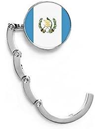 DIYthinker Gancho de mesa plegable con bandera nacional de Guatemala para América del Norte