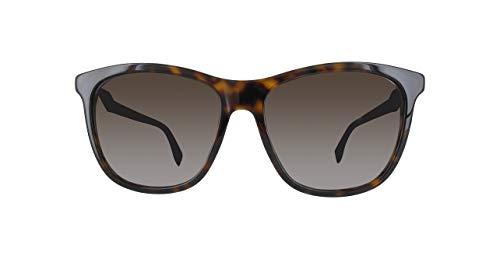Fendi ff 0199/s ha 086 occhiali da sole, marrone (braun), 57 donna