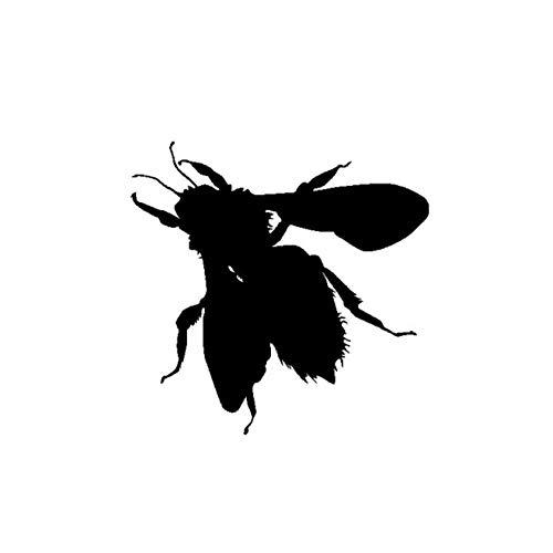 Wymw 15,2 Cm * 14,9 Cm Schillernde Künstlerische Delicate Insect Honey Bee Schatten Cool Vinyl Aufkleber Nette Auto Aufkleber - Schillernde Schatten