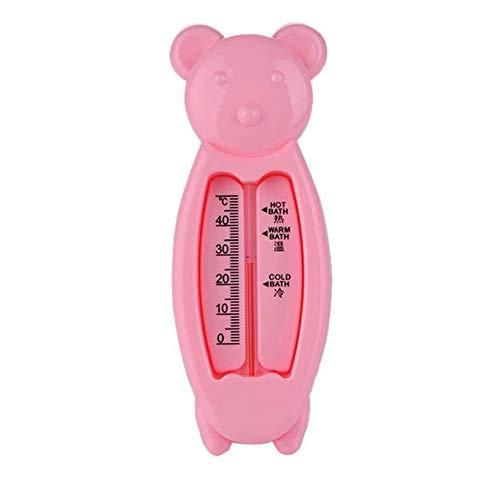 Baby Wasserthermometer Spielzeug Smart Bärenform Baby Badespielzeug Für Kinder Genaue Temperatur Teller Badethermometer - Rosa