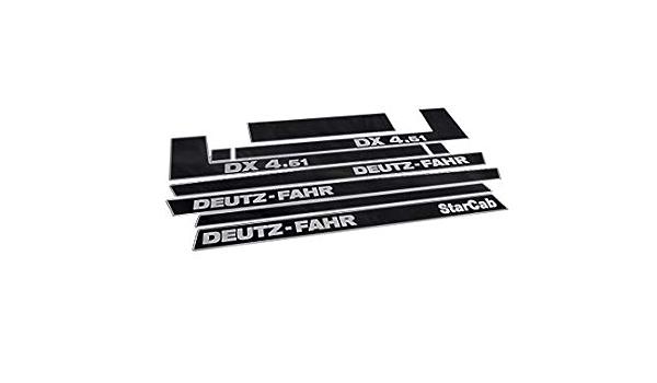 Generisch Deutz Fahr Dx 4 51 Decals Set Auto