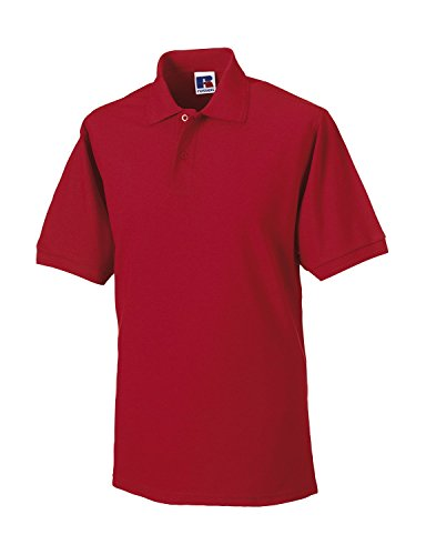 Russell - Robustes Pique-Poloshirt Classic Red