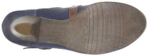 Tamaris, 1-1-24402-20, Scarpe col tacco donna Multicolore (Mehrfarbig (NAVY/NUT 832))