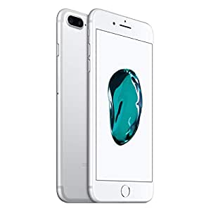 "Apple iPhone 7 Plus Smartphone 4G (Display: 5,5"" - iOS 10), 128 GB, Argento (Ricondizionato)"