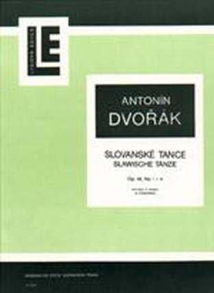 SLAWISCHE TAENZE OP 46/1-4 - arrangiert für Violine - Klavier [Noten / Sheetmusic] Komponist: DVORAK ANTONIN - VL KLAV