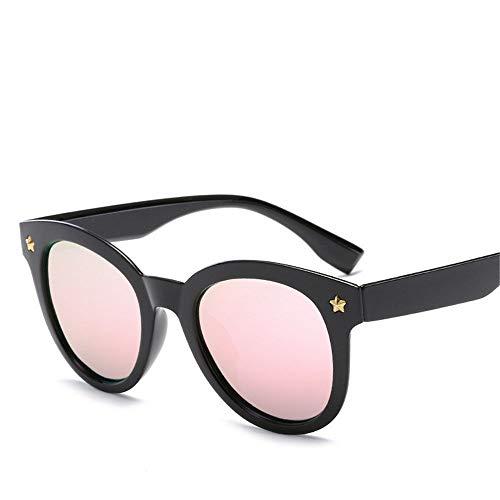 MJ Glasses Sonnenbrillen Polarisierte Retro-Farbfilmstars Nagelgläser, E