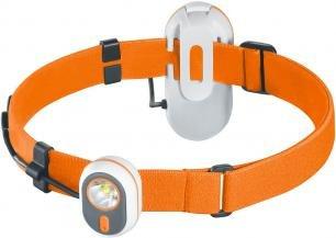Stirnlampe 4 LED weiß 3 LED rot klappbar schwarz Kopflampe Outdoor Angeln EDC BW