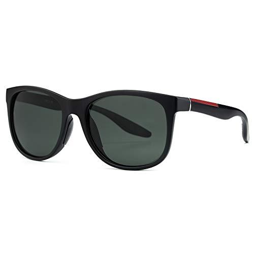 Xiaotaiyang Quadratische Sonnenbrille Lentes Gafas De Sol para Hombre,A2