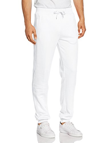 Urban Classics Herren Hose Straight Fit Sweatpants Weiß (white 220)