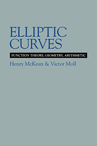 Elliptic Curves: Function Theory, Geometry, Arithmetic (Cambridge Tracts in Mathematics (Hardcover))