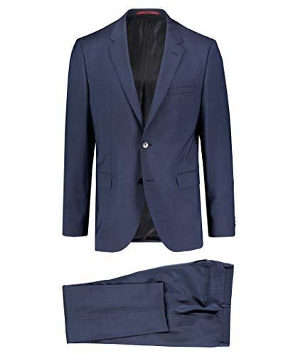 BOSS Hugo Herren Anzug Jeffrey182/ Simmons182 Regular Fit zweiteilig Marine (52) 46