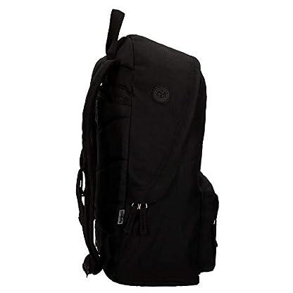 31UtX71FX3L. SS416  - Pepe Jeans 6682351 Harlow Mochila Escolar, 42 cm, 22.79 litros, Negro
