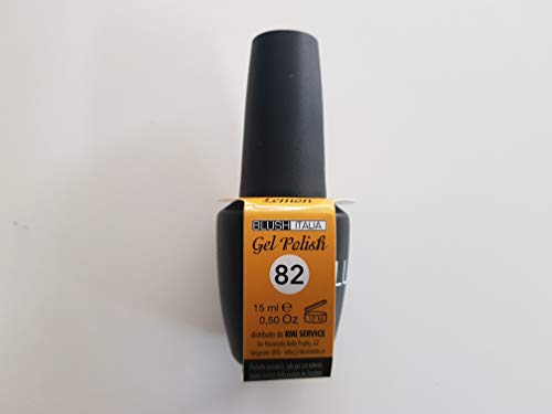 Gel Polish 15 ml semipermanenti Blush Italie 96 couleurs ultra coprenza maximale durée (82 – Lemon)