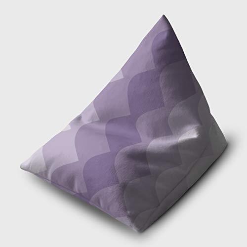 Celina Digby Sitzsack, SAMT, für iPad/eReader, Lila