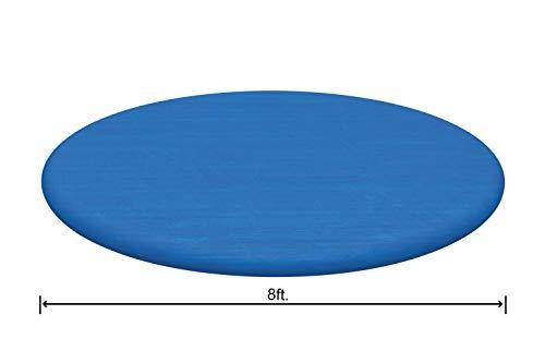 Bestway Flowclear PE-Abdeckplane, nur für Fast Set Pool 244 cm, blau