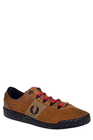 Fred perry-b/6220 stockport suede nylon balistique - 102934–chaussures pour homme