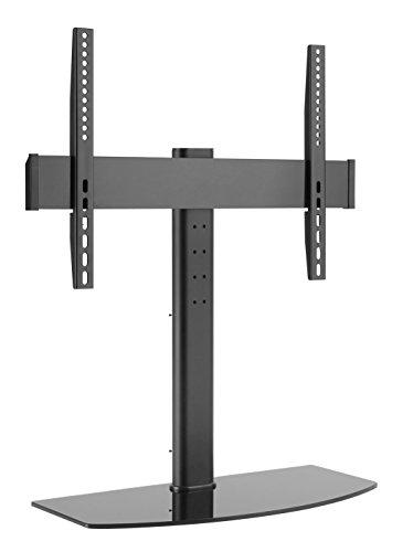 UpCo TV-Ständer für LED, OLED, LCD- und Plasma-Bildschirme 32- 65 Zoll TV-Ständer mit vielseitiger Halterung für alle Vesa-Befestigungen von 100 x 100 bis zu 600 x 400 Quick Release Lcd Bracket