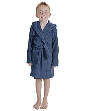 aumsaa niños infantil Bata Capucha Toalla Albornoz 100% Algodón Terry Toalla Albornoz SUAVE towling ropa de descanso...
