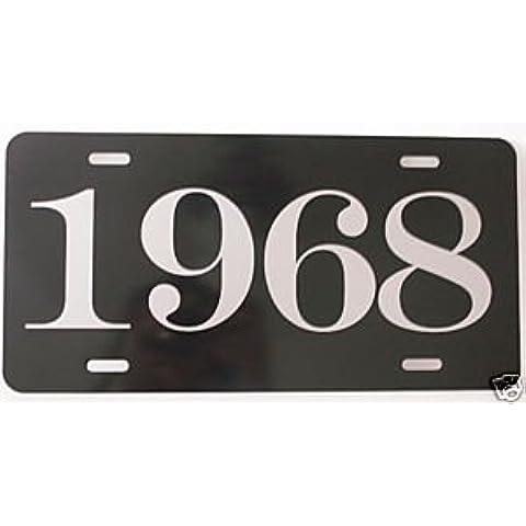 1968Anno License Plate