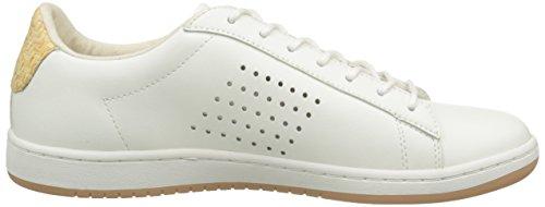 Le Coq Sportif Arthur Ashe Raffia, Baskets Basses homme Blanc (Marshmallow)