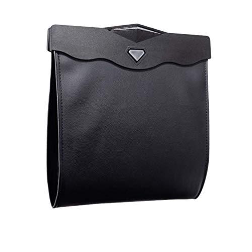 Byqny Auto Müllsack Faltbarer Rücksitz Hängen Abfall Tasche Auto Mülleimer Wasserdicht Auslaufsicher Abfalltasche Magnet Container Lagerplatz Car Garbage Bag