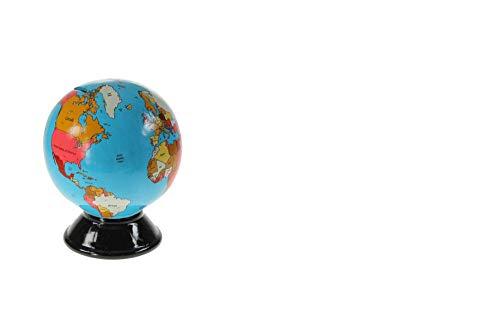 DOREX Hucha Bola Mundo, Porcelana, Talla Unica