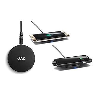 Original Audi induktive Ladestation für Mobiltelefone kabellos Wireless Charging Pad Smartphone Qi-Standard 8W0051191
