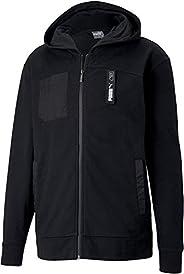 PUMA NU-TILITY FZ Hoody Puma Black Kapüşonlu Sweatshirt Erkek