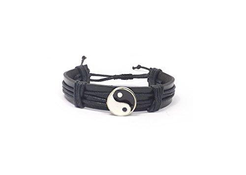 braccialetto-per-uomo-uomininerociondolo-ying-yang