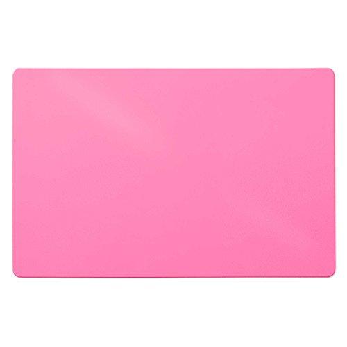 Trendige Schreibtischunterlage | Pink | PVC-frei