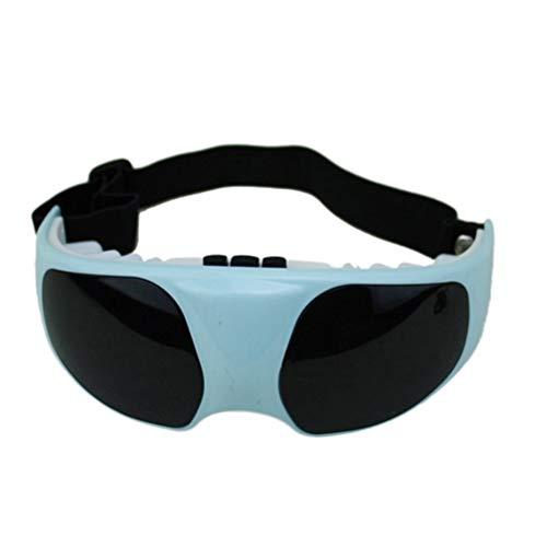 SUPVOX Magnet Augenmaske Augenmassagegerät Elektrisches Massagegerät mit Intelligentem Vibrierend Schlafmaske für Damen Herren Augen Entspannen (mit USB)