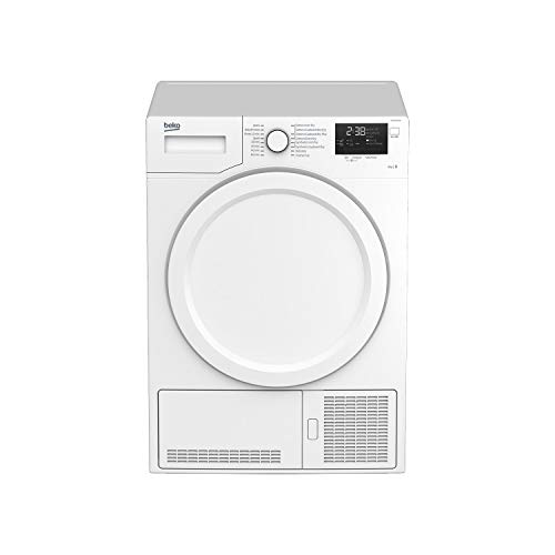Beko DCX83100W 8kg Freestanding Condenser Tumble Dryer - White