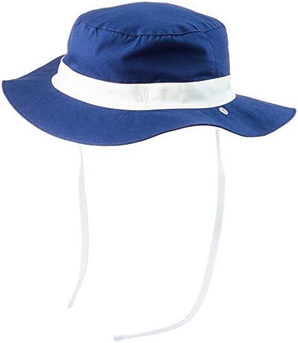 KI ET LA Gorro Reversible 100% Anti UV Chapeau De Cowboy Bébé garçon, Bleu Navy, 47 (Taille Fabricant: 45/47 Centimeters)