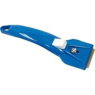Aqualine 900609600Glass-Ceramic Scraper–Red/Blue/White