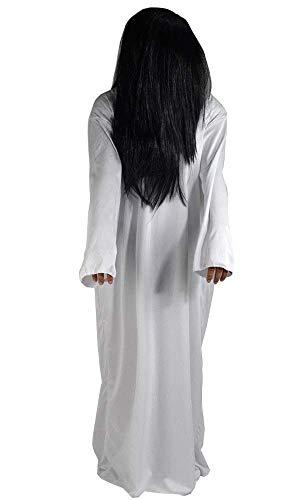 Perücke Kleid Hexe Kostüme Halloween böse Geister Frauen Kostüme Party Witz Halloween Horror Damen Erwachsenen General ()