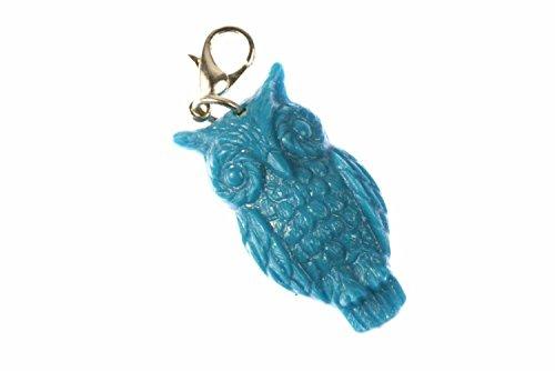 gufo-ciondolo-braccialetto-miniblings-e-uccello-gufo-turchese