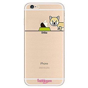 Bubblegum Cases Coque pour iPhone en TPU, Shiba, iPhone 6 6s Shiba