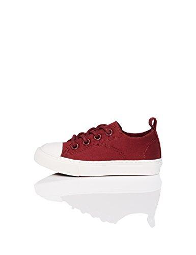 RED WAGON Zapatillas con Cordones para Niños, Rojo (Maroon), 32 EU