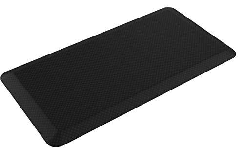 Flexispot MT1B Antimüdigkeits Komfortmatte Steh-Bodenmatte ergonomische Matte für Arbeitsplätze ,Stehschreibtische, Küchen, Bad Anti-Ermüdungsschicht 100cm x 51cm x2cm