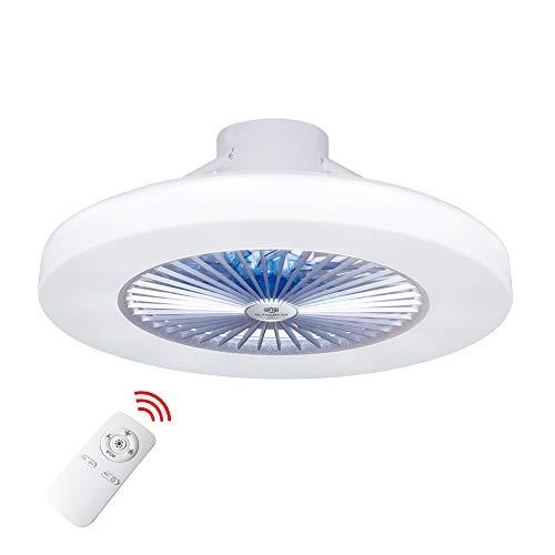 Luz del ventilador de techo, moderna LED Ventilador de techo, LED ventilador...