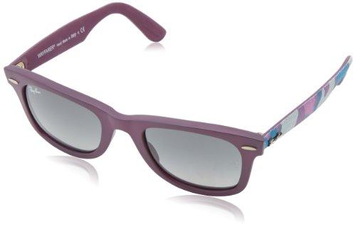 RayBan Unisex Sonnenbrille Wayfarer Urban Camouflage, Gr. One size (Herstellergröße: 50), Violett (Violett 606471)