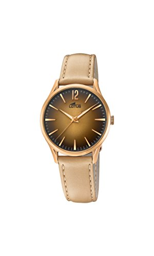 Lotus Watches Womens Analogue Classic Quartz Watch with Leather Strap 18407/2