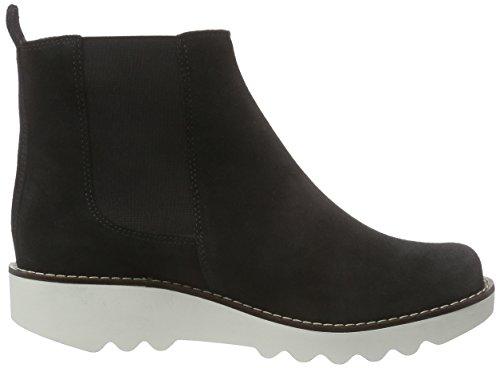 Sanita - Carina Boot, Stivaletti Donna Nero (Schwarz (Black 2))