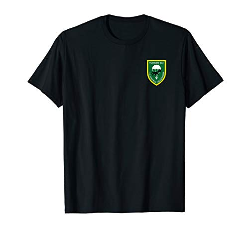 Herren Fallschirmjäger T-Shirt Airborne Parachute Wildeshausen 272 - Airborne Herren-shirt