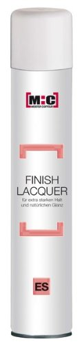 M : C Meister Coiffeur – Finition Laque pour tenue extra forte & Volume – Lacquer Extra Strong cheveux 400 ml