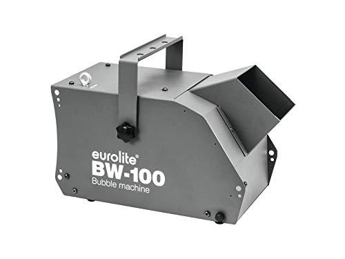 Eurolite BW-100 Seifenblasenmaschine | Kompakte, leistungsstarke Maschine mit Funkfernbedienung -