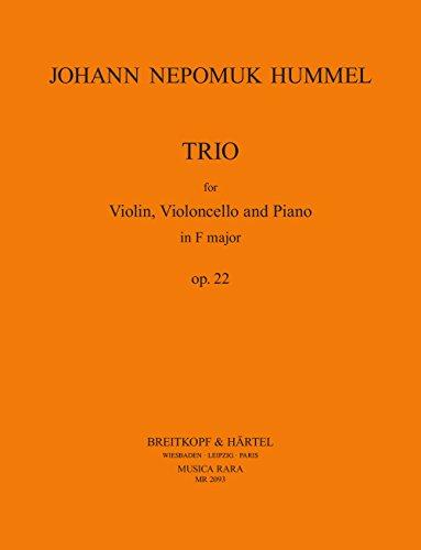Klaviertrio F-dur op. 22 (MR 2093)